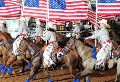 Equestrian Mounted Drill Team